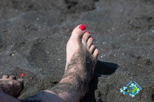 czarny piasek